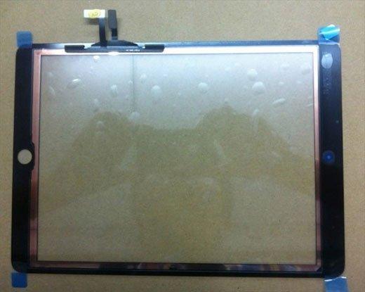 iPad 5'in Panel görüntüsü sızdırıldı!