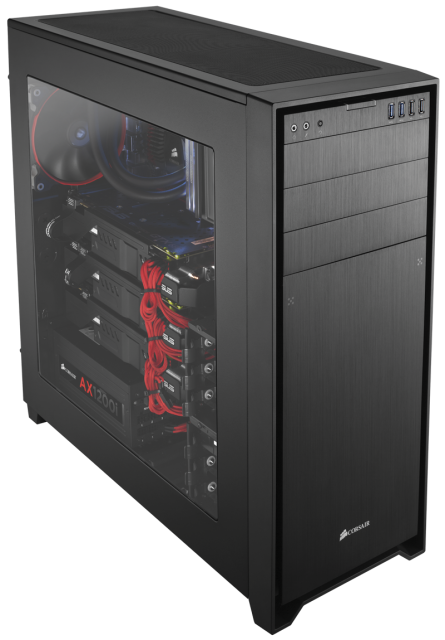 Corsair 750 Full PC kasa chasis 14 445x640 Corsair Obsidian Serisi 750D Full Tower PC Kasasını Tanıttı
