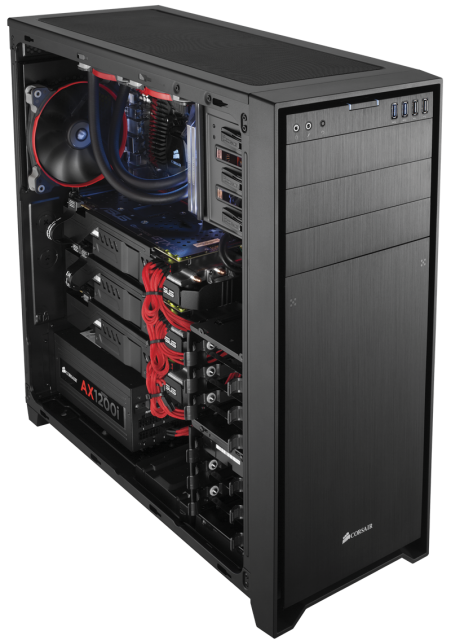 Corsair 750 Full PC kasa chasis 2 451x640 Corsair Obsidian Serisi 750D Full Tower PC Kasasını Tanıttı