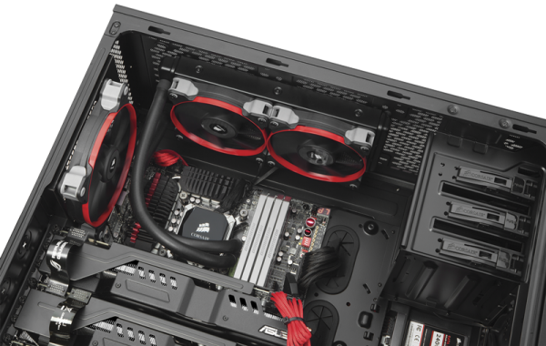 Corsair 750 Full PC kasa chasis 6 600x380 Corsair Obsidian Serisi 750D Full Tower PC Kasasını Tanıttı