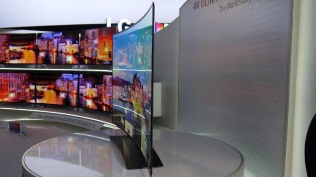 LG'nin 77-inçlik televizyonu, pazarın en büyük OLED TV'si oldu.