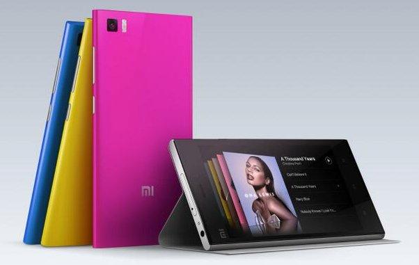 Xiaomi yeni telefonu Mi3'ü tanıttı.