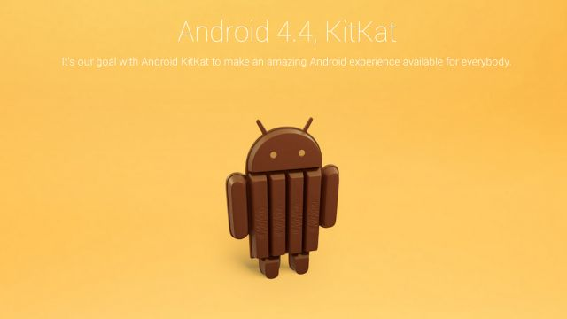 Android 4.4'ün ismi Key Lime Pie'dan Kit Kat'a çevrildi.