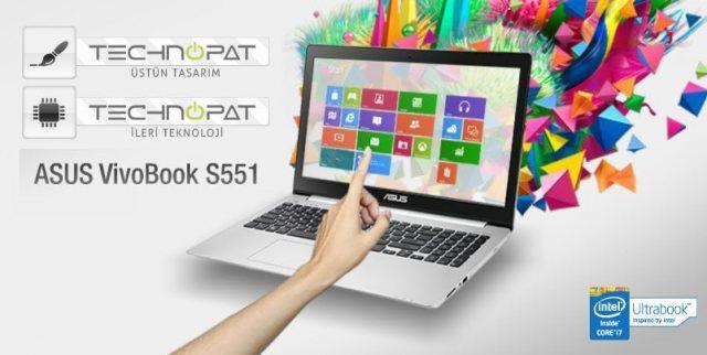 ASUS Vivobook S551 Üstün tasarım ve ileri teknoloji ödülleri kazandı
