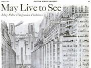 1950 Yılında şehirler nasıl olabilir sorusunun 1925'teki yanıtı...