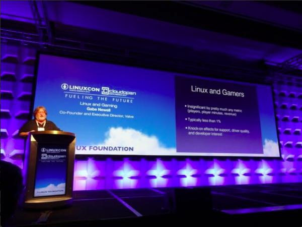 Gabe Newell, Linux platformunun geleceği hakkında açıklamalarda bulundu.