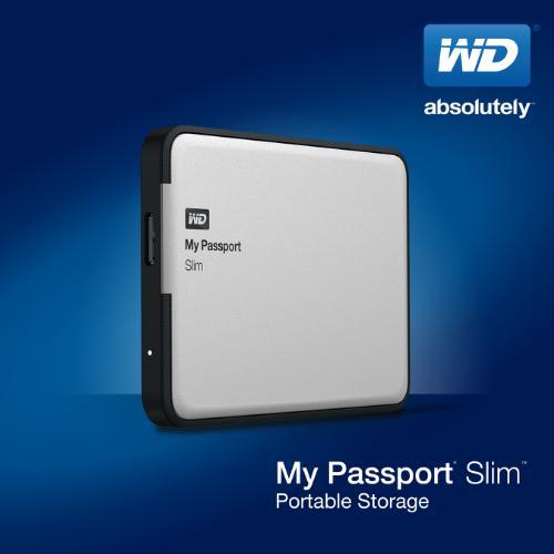 My Passport Slim modelleri Western Digital tarafından tanıtıldı.