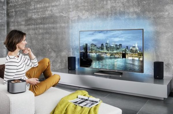 Philips yeni televizyonlarını tanıtma imkanı buldu.