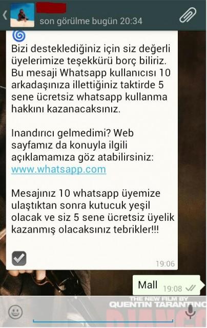 Whatsapp'tan Gelen 10. Yıl Mesajlarına Dikkat - Technopat
