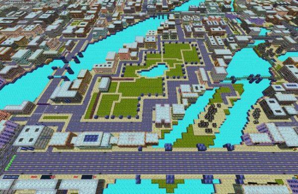 Neden bilmiyorum, bana Minecraft'ı andırdı.