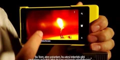 Video thumbnail for youtube video Nokia Lumia 1020 ve Pro Camera - Technopat