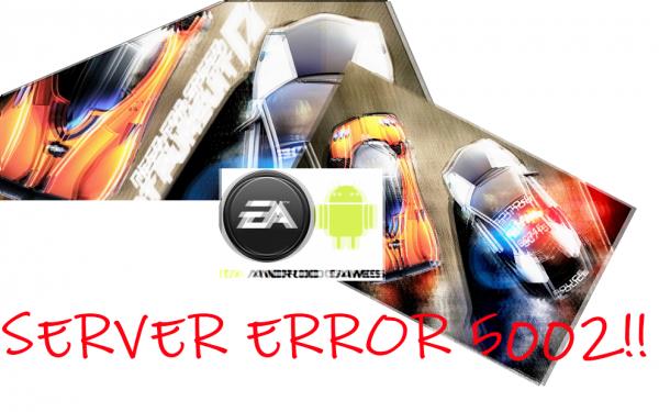 SERVER ERROR 5002