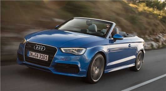 Audi yeni modelini görücüye çıkardı.