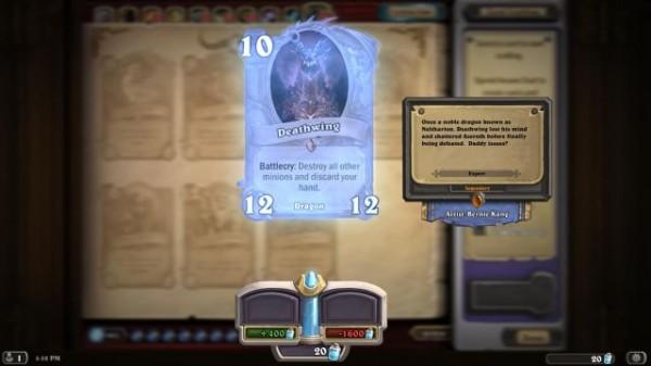 Arcane Dust ile istediğiniz kartı oluşturabiliyorsunuz.