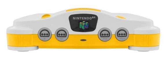 Yenilenmiş Nintendo 64'lerin birçok farklı renk seçeneği mevcut.
