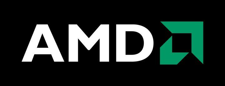 AMD Logo Siyah