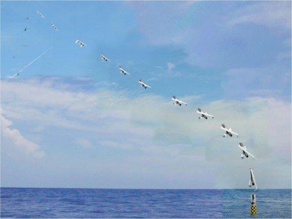 XFC UAS aracının adım adım fırlatılışı böyle görüntülendi.