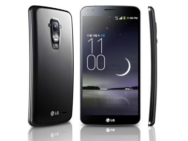 LG G Flex, küresel pazara girmeye hazırlanıyor.