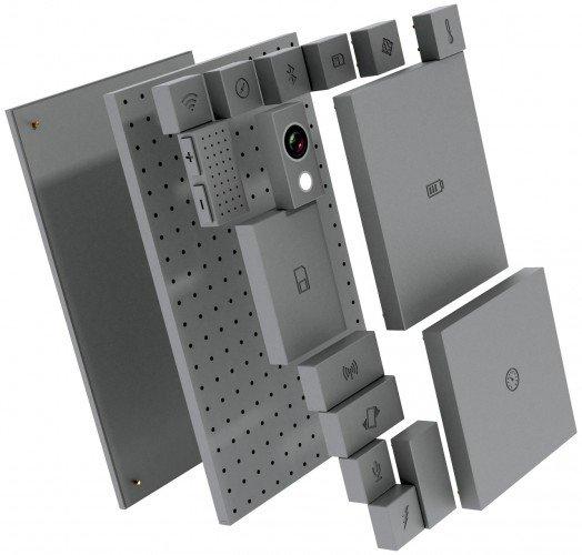 Ara Projesi ile kullanıcı telefonun önemli parçalarını istediği gibi değiştirebilecek.