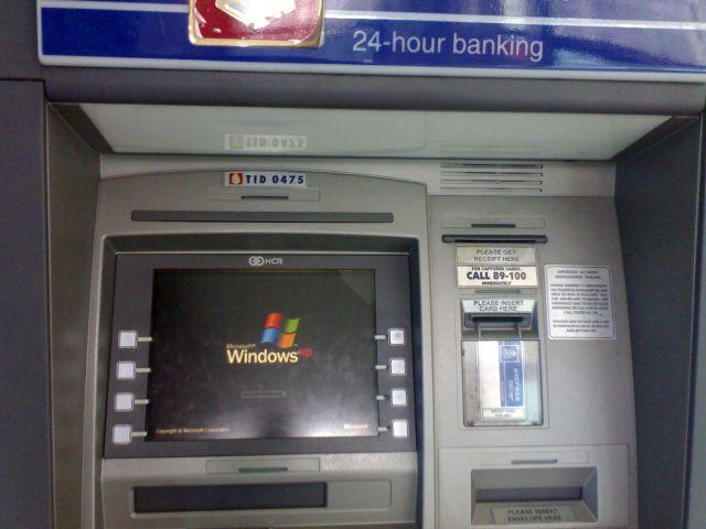 Windows XP ATM