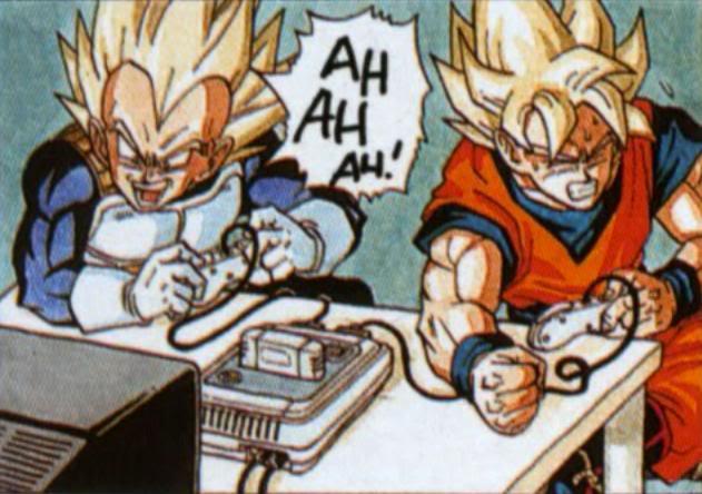 Goku ve Vegeta