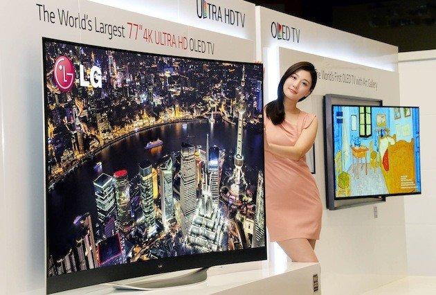 LG 77-inç OLED UHD TV