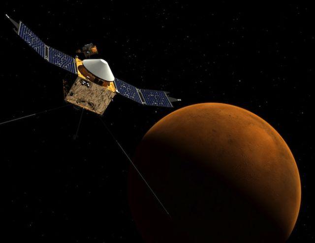 maven mars 2014 Yılında Uzayda Neler Olacak?