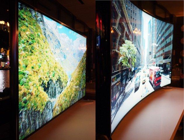 Samsung Kıvrımlı Ekran