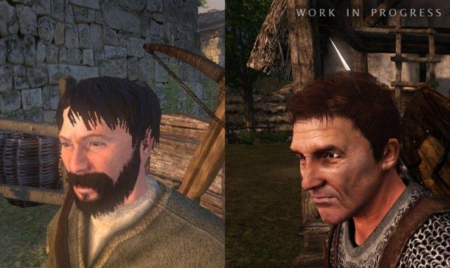 Solda eski, sağda yeni oyundan alınan karakter modellerini görebilirsiniz