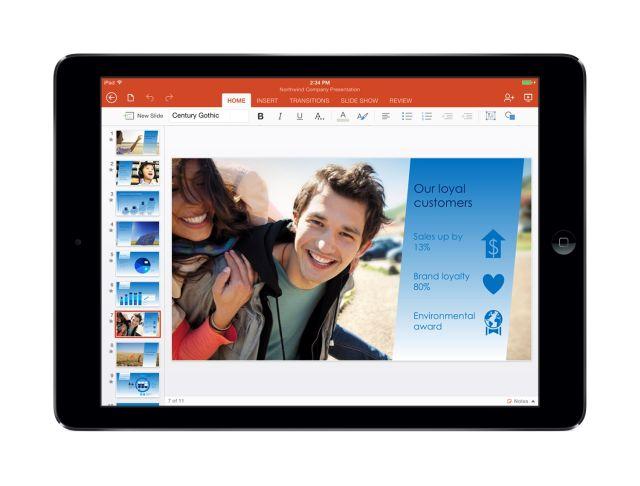 PowerPoint iPad