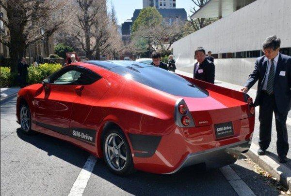 Japon Sim Drive Firmasından Yeni Elektrikli Araba Technopat
