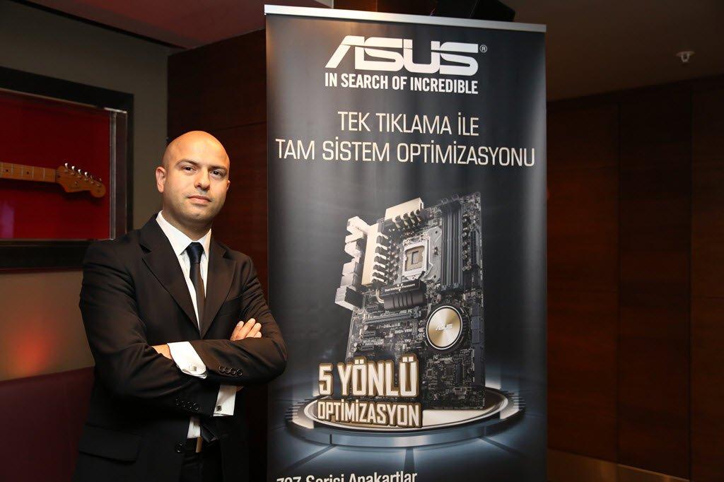 ASUS OPBG İş Geliştirme Müdürü İlker Bacaksız