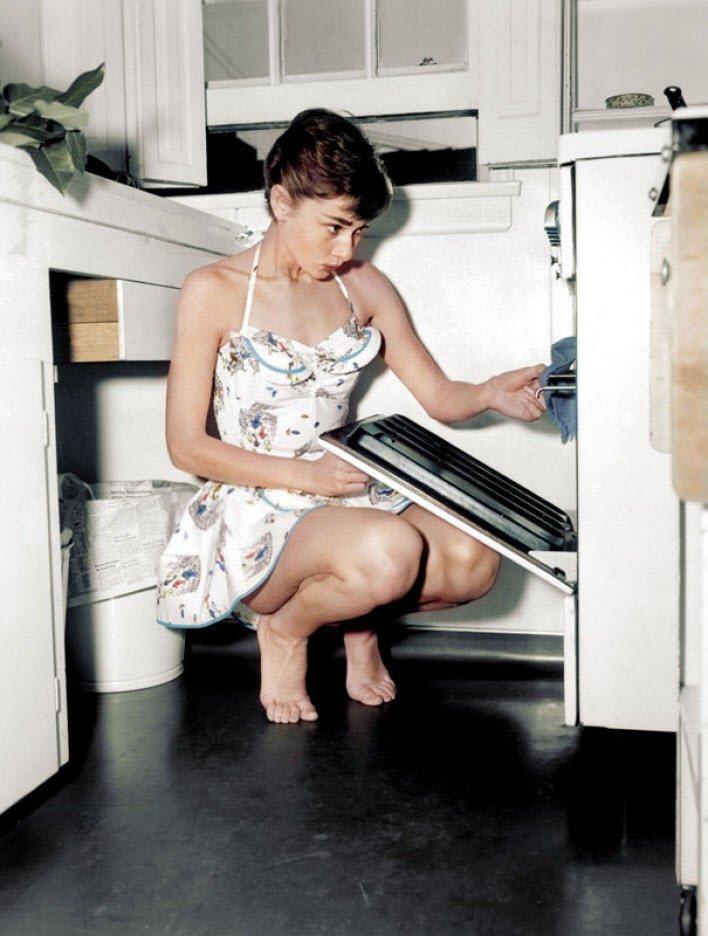 Ünü aktris Audrey Hepburn
