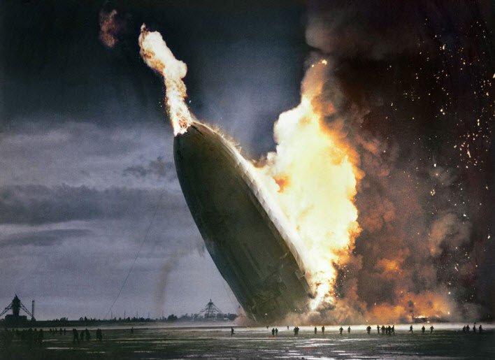 Hindenburg Faciası - 6 Mayıs 1937.