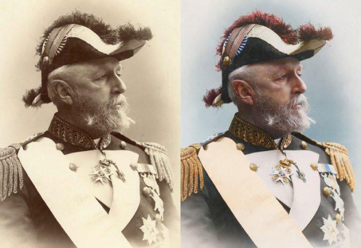 İsveç ve Norveç Kralı Oscar II. - 1880
