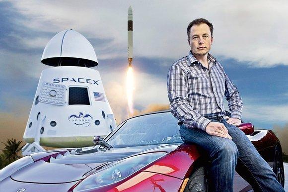 Elon-Musk-Rocket