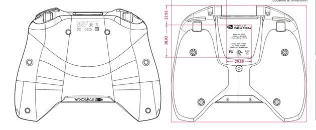 Solda olası Shield 2 konsolu, sağda ise Shield'in ilk modelinin karşılaştırmasını görebilirsiniz.