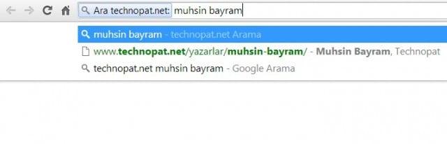 site arama