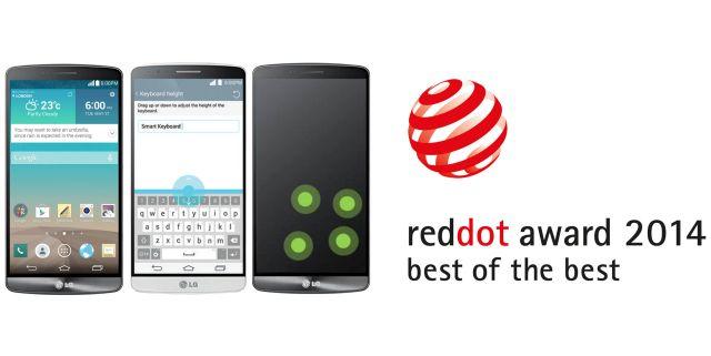LG G3 UX_Red Dot Award