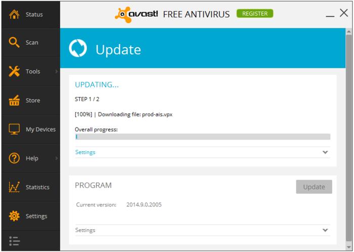 Avast latest antivirus software