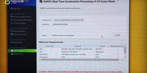 Video thumbnail for youtube video Samsung 840 EVO SSD Performans Artırma - Technopat