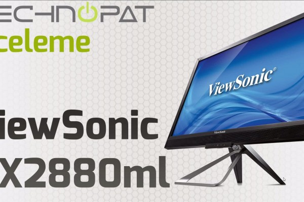 Video thumbnail for youtube video ViewSonic VX2880ml 4K Monitör İncelemesi - Technopat