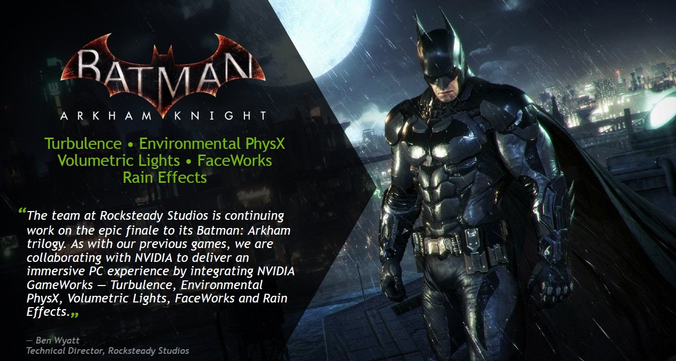 Batman Arkham Knight Gameworks