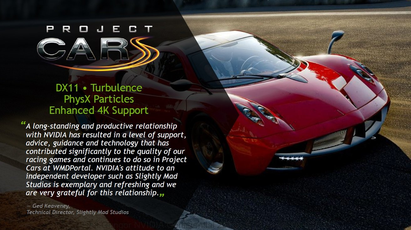 Project Cars Gameworks