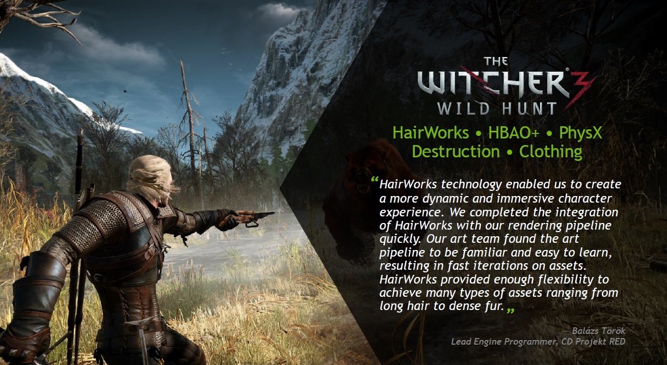 The Witcher 3 Gameworks