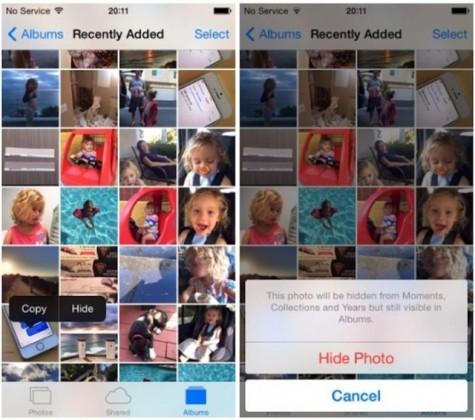 как скрыть фото в галерее в андроиде