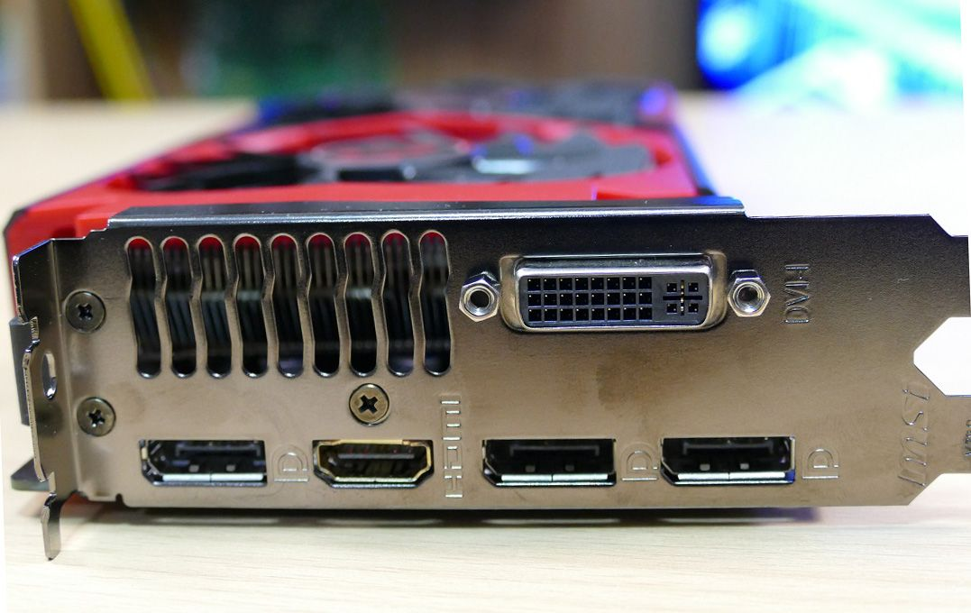MSI GTX 960 Gaming 2G Görüntü Çıkışları