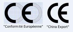 CE türleri: Soldaki güvenilirdir