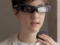Sony'den akıllı gözlük