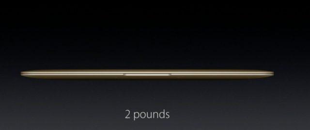 macbook ağırlık